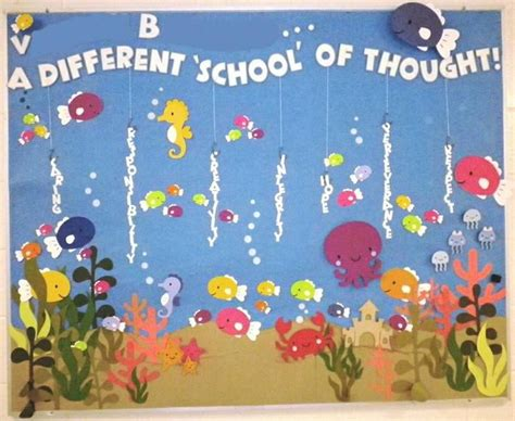 board ideas a different school of thought theme bulletin board bulletin board ideas