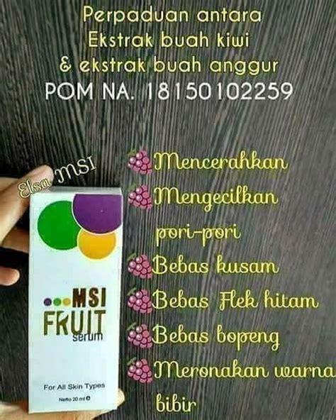 Serum Collagen Msi serum fruit msi biospray collagen spray untuk wajah
