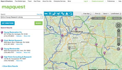 mapquest maps where did mapquest go dh101 fall 2014