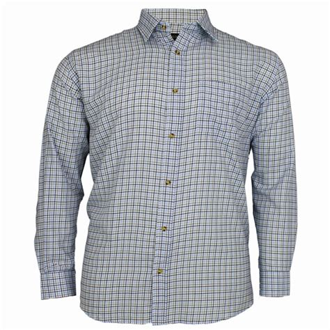 pattern tuxedo shirt mens cotton valley check pattern long sleeve casual formal