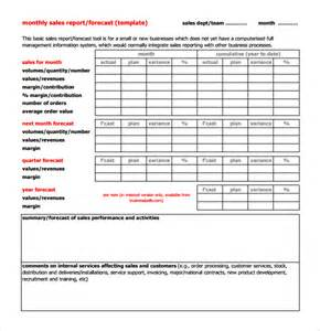 monthly reports templates sle monthly report template 11 free documents in