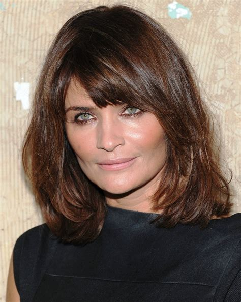 short length with bangs hairstyles for women over 50 how to cut bang for wavy long hairstyles