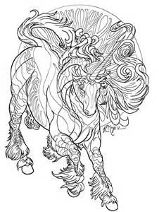 realistic unicorn coloring pages az coloring pages