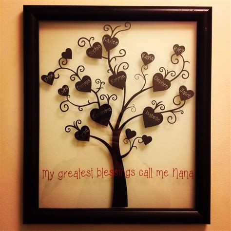 family gifts family tree s day gift idea silhouette want there