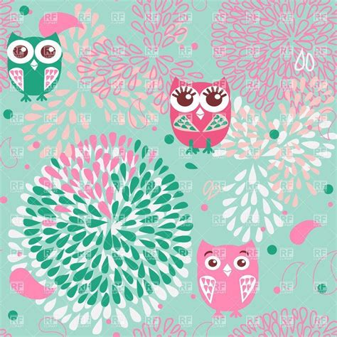cute pattern desktop wallpaper free owl wallpapers wallpaper cave