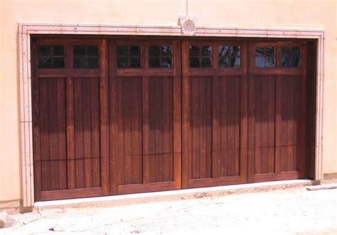 Wood Stained Garage Doors Stained Wood Garage Doors Modern Shed By Hill Country Garage Doors