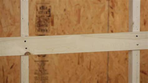 Installing Furring Strips On Ceiling For Drywall by How To Install Furring Strips For Drywall Ehow