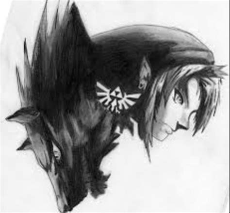 And Wolf Twilight Princess D0291 wolf link twilight princess drawings www pixshark images galleries with a bite