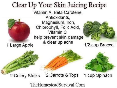 Acne Smoothie Detox by Food Detox For Acne Smoothies And Juices