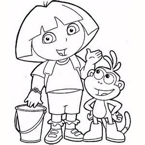 Coloriage Jeux Dora A Imprimer Gratuit