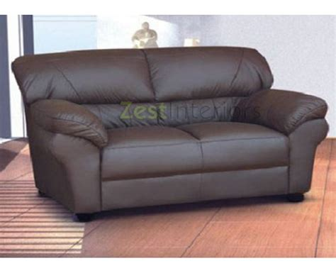 polo sofa polo two seater sofa high quality brown faux leather