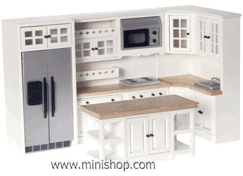 dollhouse kitchen furniture 25 best ideas about dollhouse furniture sets on