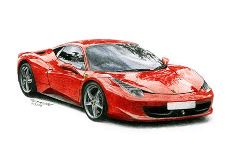 ferrari drawing ferrari 458 drawings www pixshark com images galleries