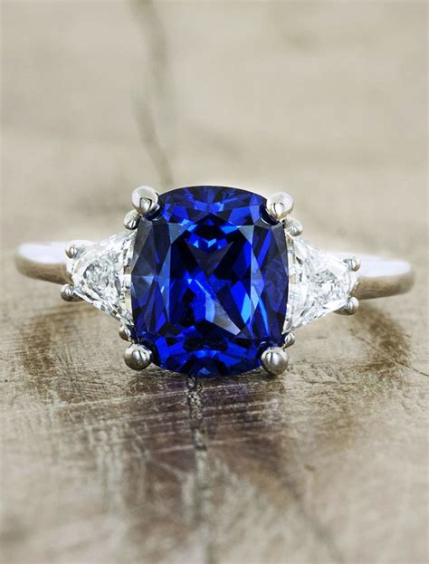 Blue Safir 1a 17 best ideas about sapphire engagement rings on