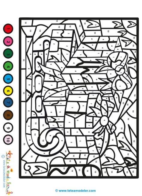 Coloriage Magique Du Soir De No 235 L Coloriage Cod 233