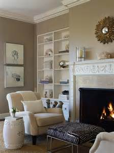 Living Room With Fireplace Wall Color Warme Kleuren Woonkamer I My Interior