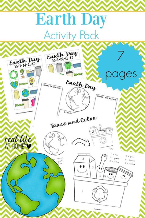 Free Printable Activities For Earth Day earth day worksheets and free earth day printables