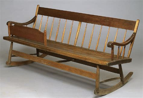 rocker bench country mammy s rocker bench 1358700