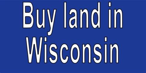 Wisconsin Property Sales Records Cheap Land For Sale In Wisconsin Buy Cheap Land In Wisconsin
