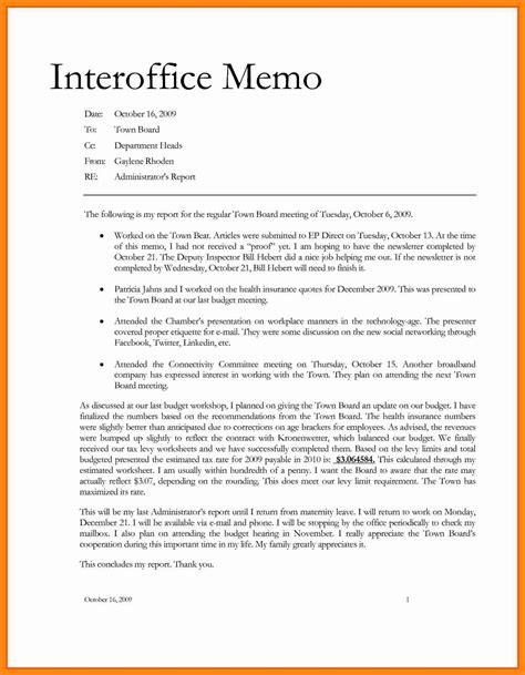 Memo Exles To 7 Sle Office Memos Graphic Resume