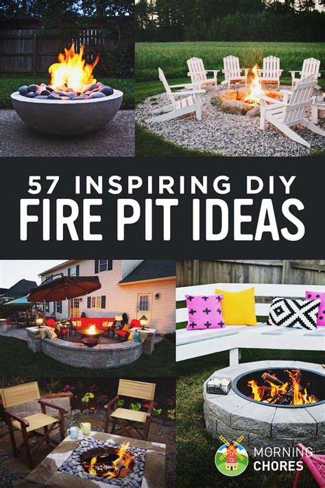 firepit plans 57 inspiring diy outdoor pit ideas to make s mores