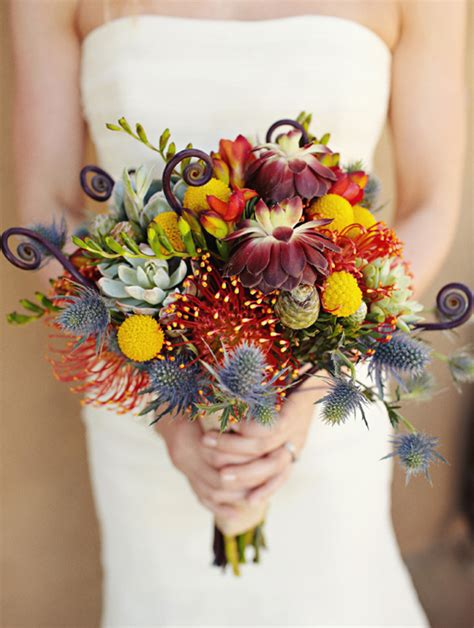 fall flowers for wedding lovely exotic fall wedding bouquet absolute