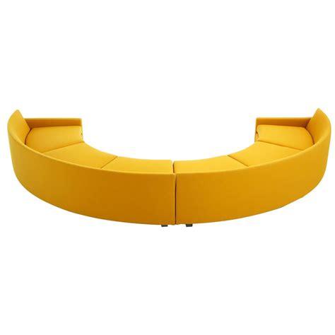 sofa circle milo baughman semi circle sectional sofa for sale at 1stdibs