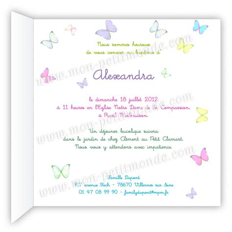 Exemple Lettre D Invitation Bapteme Modele Texte Original Invitation Bapteme