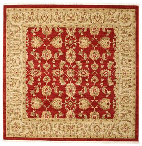 rugvista tappeti ziegler kaspin rosso 192x192 rugvista
