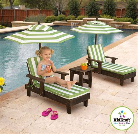kidkraft chaise lounge kids lounge chairs with umbrella home design garden