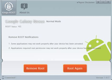android root access kingo android root offers one click rooting for several devices