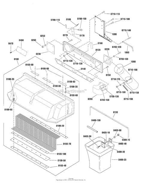 catcher diagram simplicity 1694389 catcher clean sweep parts
