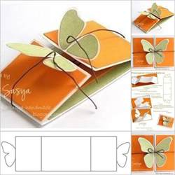 small greeting card template wonderful diy butterfly greeting card