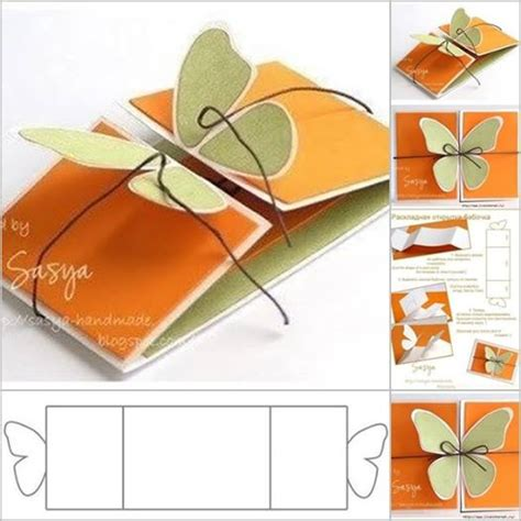 Free Handmade Card Ideas - wonderful diy 3d kirigami cards with 18 templates