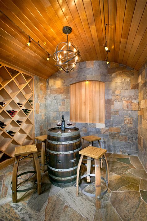 Wine Cellar Chandelier Wine Barrel Chandelier Wine Cellar Mediterranean With Brick Ceiling Brick Wall Candle Sconces