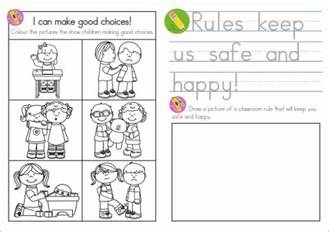 coloring pages school rules sunday school rules in my world