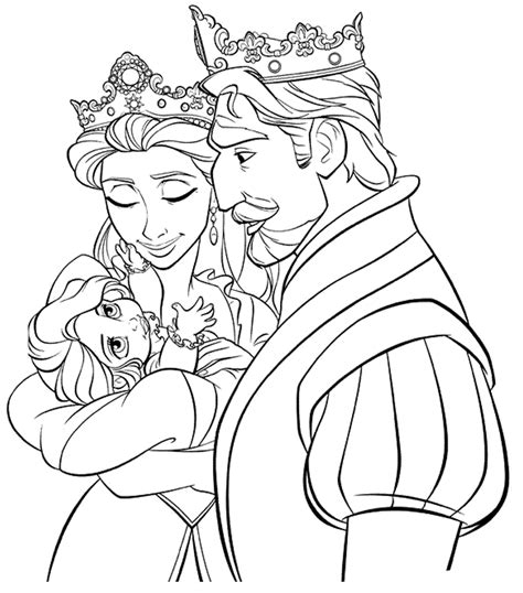 Tangled Printable Coloring Pages Free Printable Tangled Coloring Pages For Kids