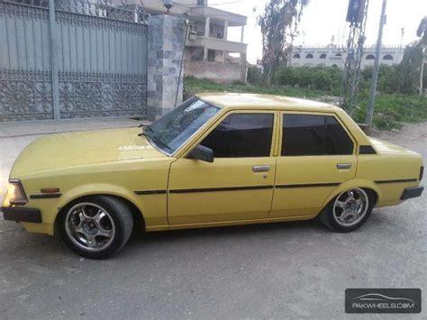 82 Toyota Corolla Toyota Corolla Xe Limited 1982 For Sale In Peshawar