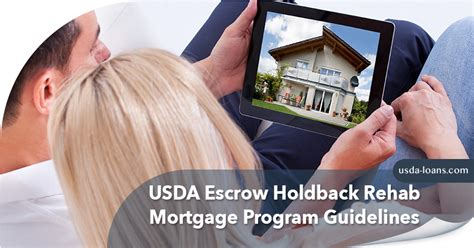 On Mail Restriction In Detox by Usda Escrow Holdback Rehab Mortgage Program Guidelines