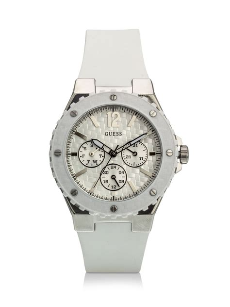 Guess 3chrono White buy guess chronograph w90084l1 for s white watches in india