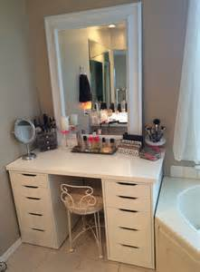 Makeup Vanity Mirror Ikea Pin By Sannes On 4 The Home