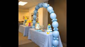 how to make baby shower decorations at home baby shower balloon decorations ideas home baby shower