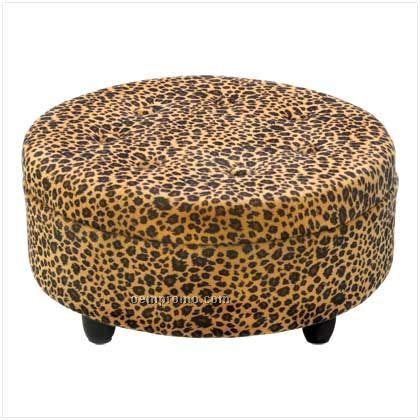 round leopard ottoman luscious leopard round ottoman china wholesale luscious