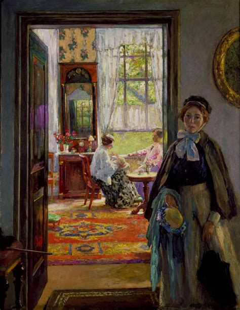 Country Style Homes Interior gari melchers home and studio historic artists homes