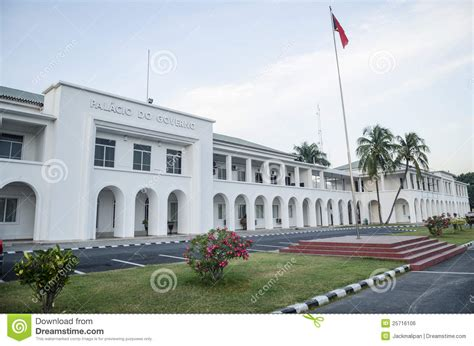 Asian House Plans government house in dili east timor royalty free stock