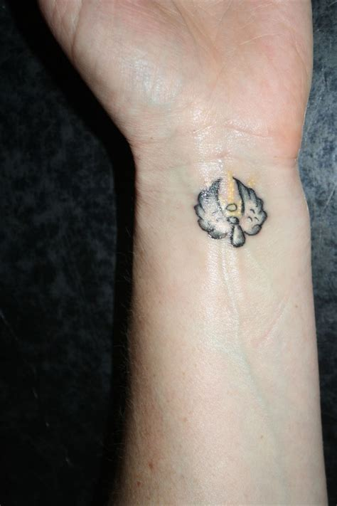 guardian angel tattoos small tiny flying on wrist ideas for me