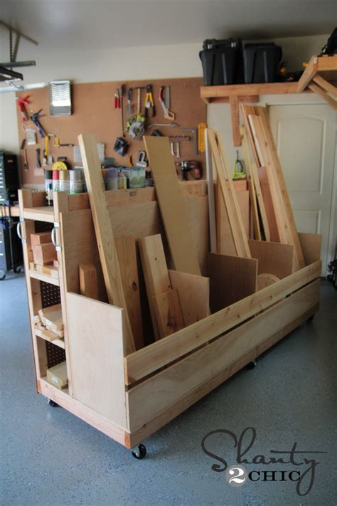 Garage Lumber Storage Ideas Woodwork Woodworking Garage Storage Pdf Plans