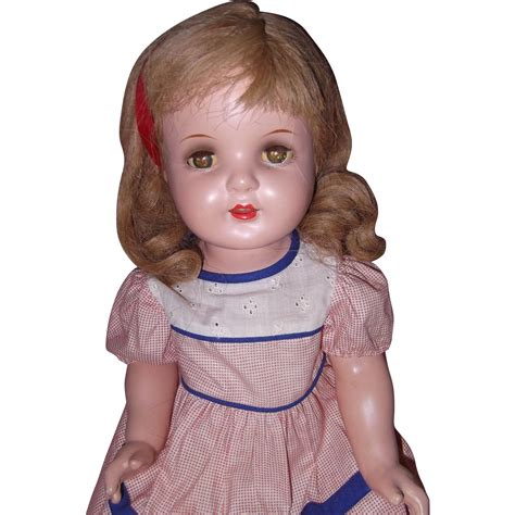 1940s composition doll beautfiul large 1940s composition doll from