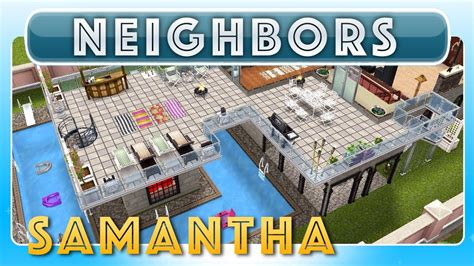 home design game neighbors sims freeplay samantha s house neighbor s original