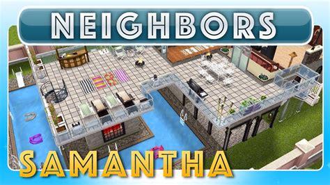 design clothes neighbor sims freeplay sims freeplay samantha s house neighbor s original